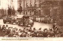 Straßburg i. E., 25. November 1918 Parade vor Marschall Pétain
