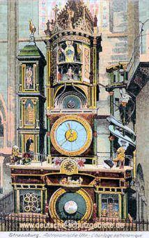 Straßburg i. E., Astronomische Uhr