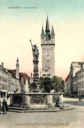 Straubing, Chorbrunnen