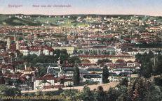 Stuttgart, Blick von der Gerokstraße