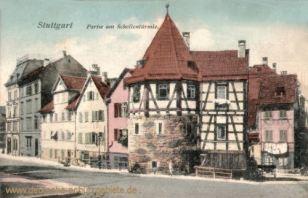 Stuttgart, Partie am Schellentürmle