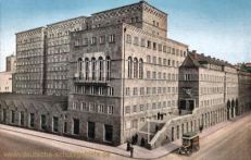 Stuttgart, Posthochhaus, Oberpostdirektion