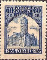 Thorn, Rathaus Polnische Post 1933