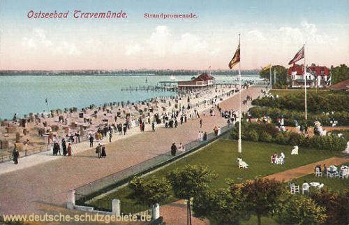 Travemünde, Strandpromenade