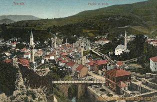 Travnik, Pogled sa grada