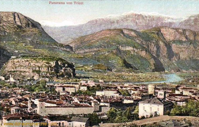 Trient, Panorama