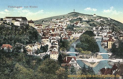 Tübingen von Westen