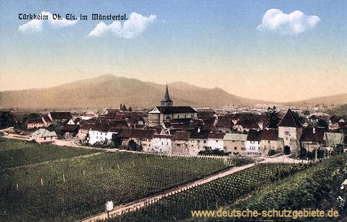 Türkheim im Oberelsaß im Münstertal