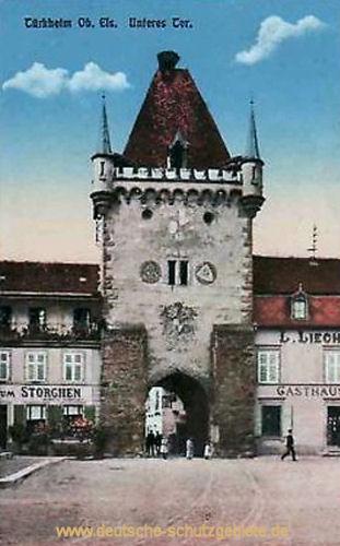 Türkheim im Elsaß, Unteres Tor