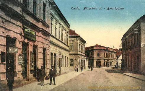 Tuzla, Binartgasse