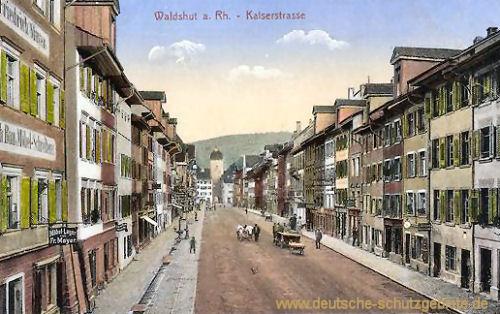 Waldshut, Kaiserstraße