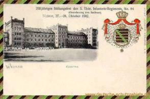Weimar, Kaserne 5. Thüringer Infanterie-Regiment, No. 94