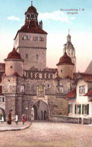 Weissenburg in Bayern, Ellingertor