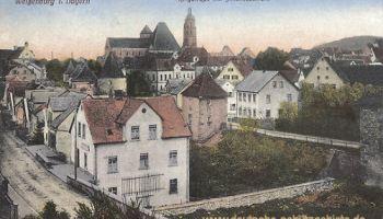 Weißenburg in Bayern, Ringstraße mit Andreaskirche