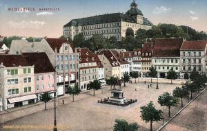 Weißenfels, Marktplatz