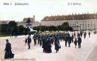 Wien I., K. k. Hofburg, Heldenplatz