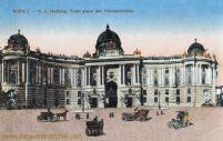 Wien, K. K. Hofburg, Trakt gegen den Michaelerplatz