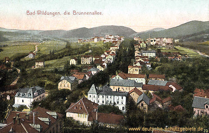 Bad Wildungen, Brunnenallee