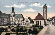 Worms, Lutherkirche und Eleonorenschule
