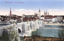 Würzburg, Alte Mainbrücke