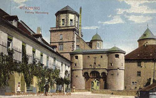Würzburg, Festung Marienberg