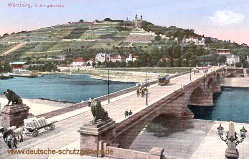 Würzburg, Ludwigsbrücke