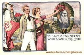 Würzburg, 14. Bayer. Turnfest 1912