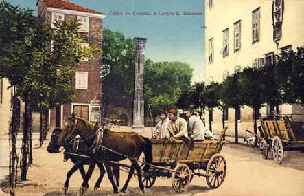Zara, Colonna e Campo S. Simeone