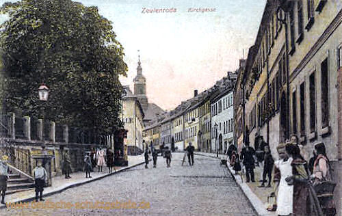 Zeulenroda, Kirchgasse