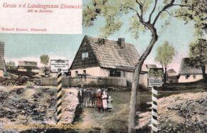 Zinnwald, Landesgrenze zu Böhmen (Österreich)