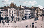 Zittau, Bahnhofstraße, Hotel Reichshof