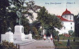 Zittau, König Albert-Denkmal