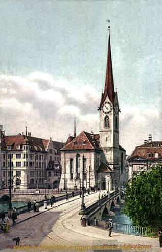 Zürich, Fraumünster