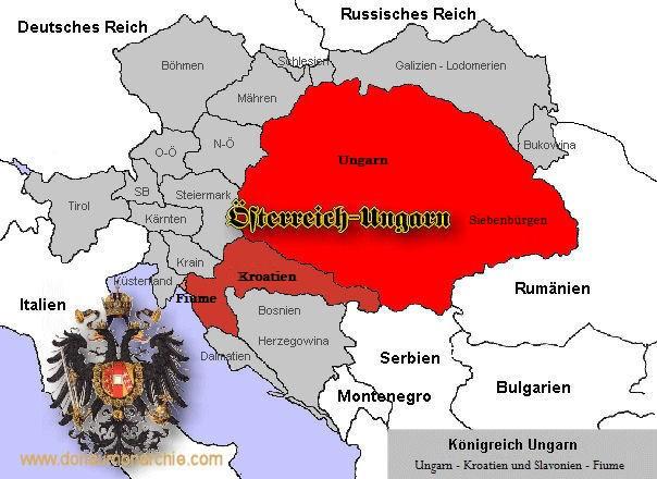 Länder der heiligen ungarischen Stephanskrone
