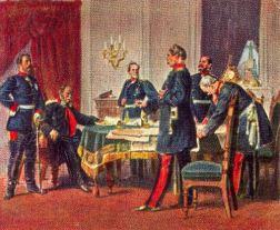 Kriegsrat in Versailles, 1870