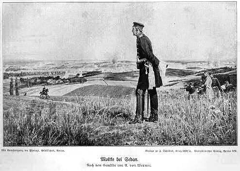 Moltke bei Sedan