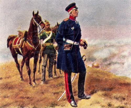 Moltke vor Sedan, 1. September 1870