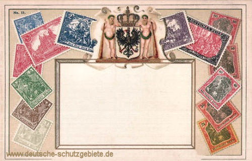 Briefmarken, Deutschland um 1900