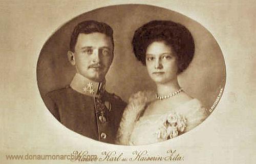 Kaiser Karl und Kaiserin Zita