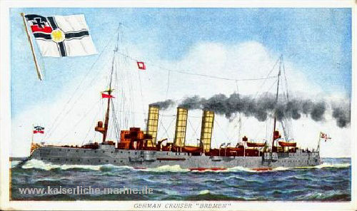 "German Cruiser ""Bremen"""