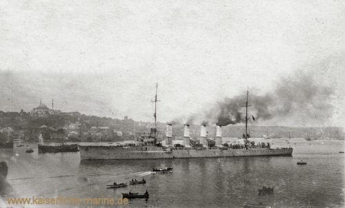 S.M.S. Breslau in Istanbul