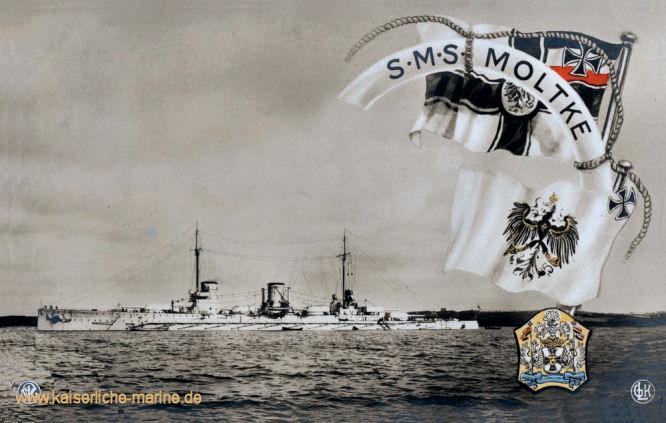S.M.S. Moltke, Großer Kreuzer