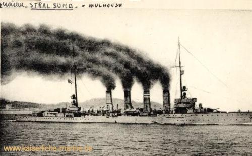 """S.M.S. Stralsund als """"Mulhouse"""""""