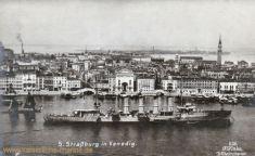 S.M.S. Strassburg in Venedig, 1913