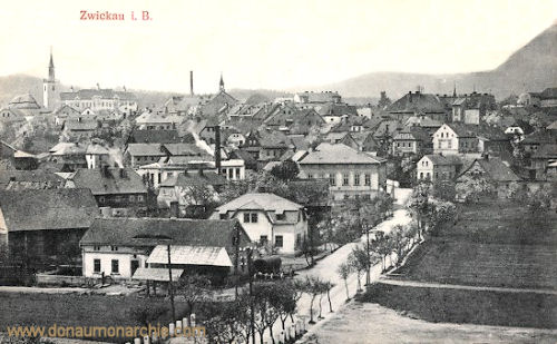 Zwickau in Böhmen, Ansicht