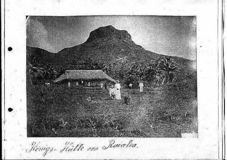 Königshütte von Raiatea
