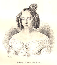 Prinzessin Augusta als Braut, 1829