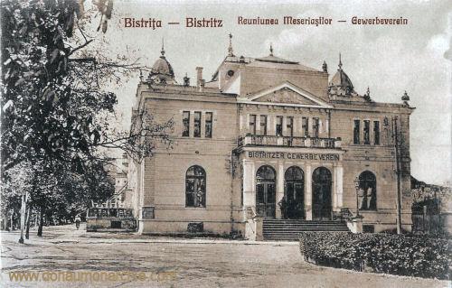 Bistritz - Besztercze, Gewerbeverein