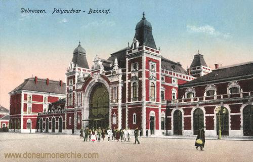 Debreczen, Pályaudvar (Bahnhof)