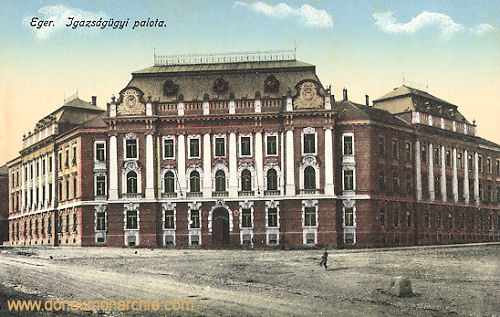 Erlau (Eger), Igazságügyi palota (Justitzpalast)